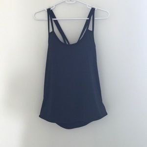 Athleta Open Back Breathable Workout Tank